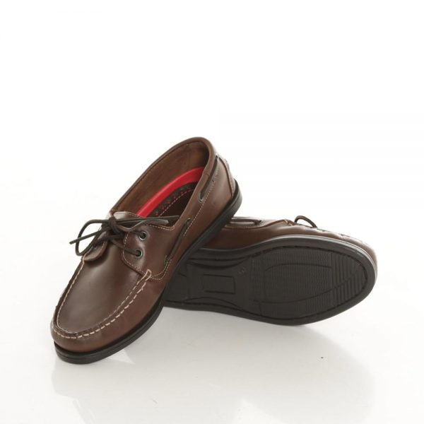 Burke Flinders Leather Deck Shoes | North Haven Marine